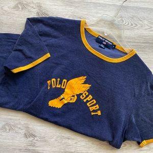 90's Vintage Ralph Lauren Polo Sport P-Wing Logo